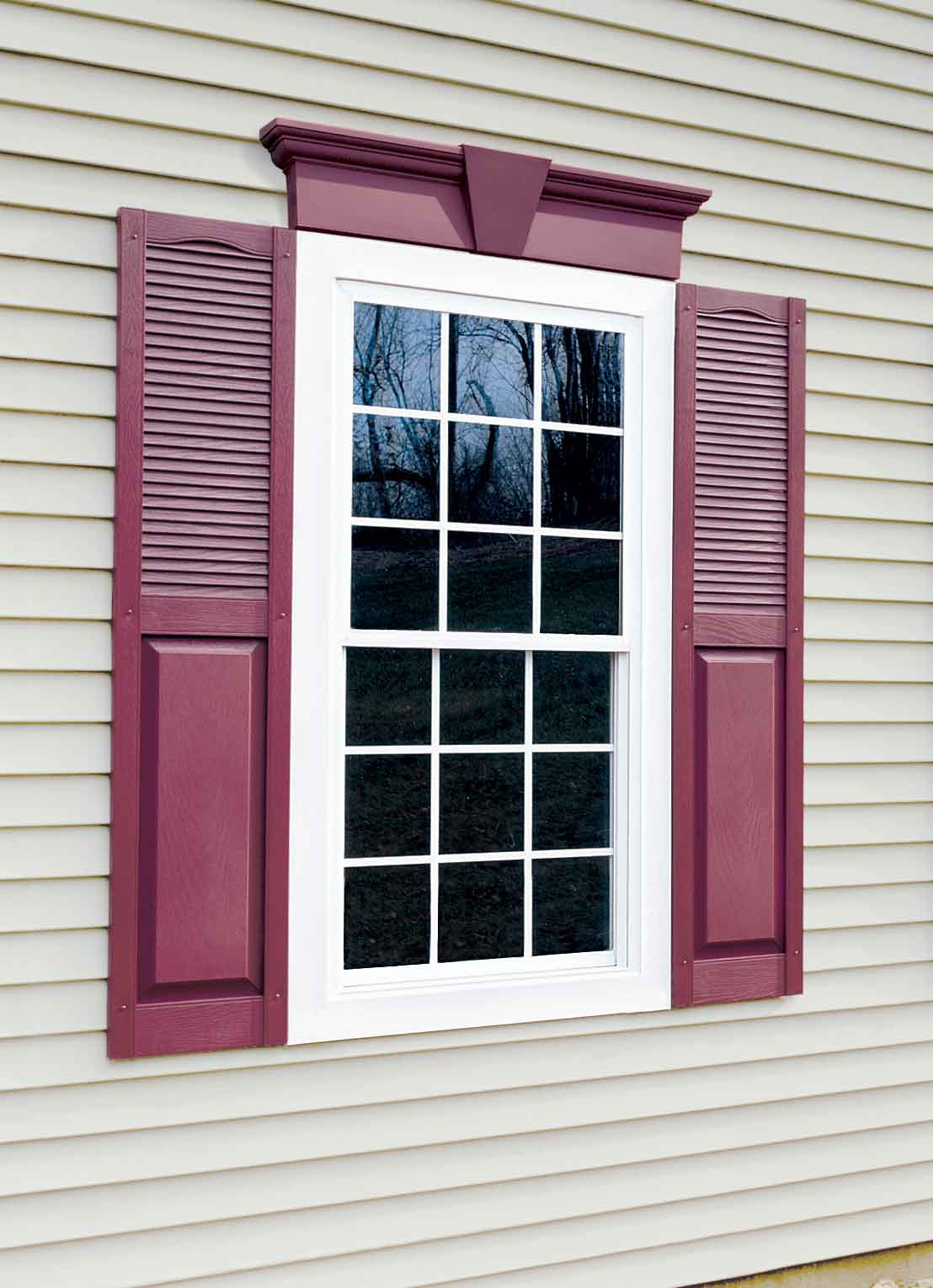 External shutters trade window shutters for Window shutters